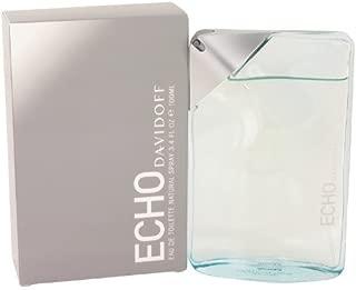 Davidoff Echo for Men Agua de toilette con vaporizador - 100 ml: Amazon.es: Belleza