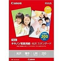 キャノン 写真用紙・光沢 スタンダード L判 200枚 0863C002