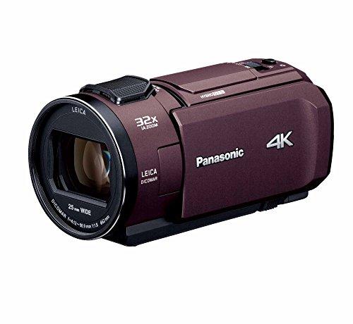 パナソニック 4K ビデオカメラ VX1M 64GB あとから補正 ブラウン HC-VX1M-T
