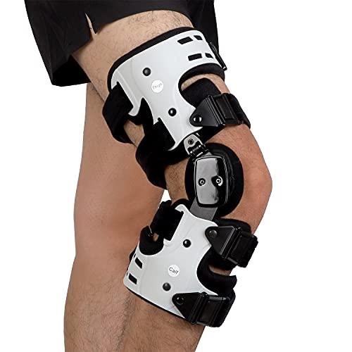 Orthomen OA Unloader Knee Brace - Support for Arthritis Pain, Osteoarthritis, Cartilage Defect Repair, Avascular Necrosis, Bone on Bone Knee Joint Pain and Degeneration (Medial/Inside - Right)