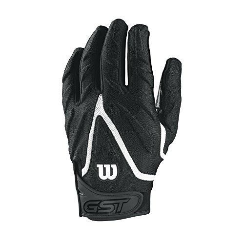 Wilson GST Big Skill American Football Handschuhe - schwarz Gr. M