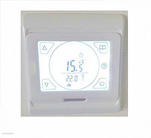Thermostat IT14 - Unterputz Touchscreen Digital - Infrarotheizungs Zubehör