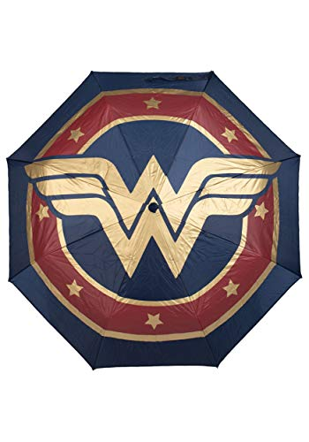 Bioworld Merchandising / Independent Sales Wonder Woman: Sword Molded Handle Umbrella Standard