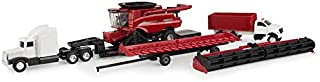 ERTL 1/64 Case IH Harvesting 9250 Tracked Axial Flow Combine 7 Piece Harvesting Set
