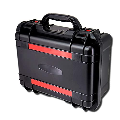 XBSXP Estuche rígido Protector a Prueba de Agua con Espuma, Estuche portátil de Transporte Estuche de plástico Equipo de Seguridad Caja táctica