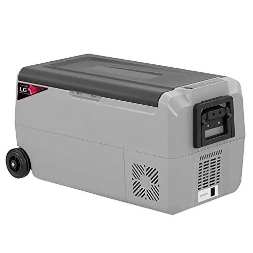 Yangyang PortáTil Nevera del Coche, Mini Refrigerador TermoeléCtrico Refrigerador 12v / 24v / 220v Calentador De Alimentos para Congelador De Refrigerador De CamióN