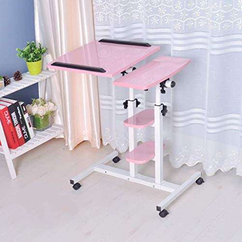 Kleine woning afneembaar voor laptop kantoor / permanent Workbench / slaapbank ontbijtplank / multifunctionele bureau, in hoogte verstelbaar / hoek verstelbaar Jcoption 2