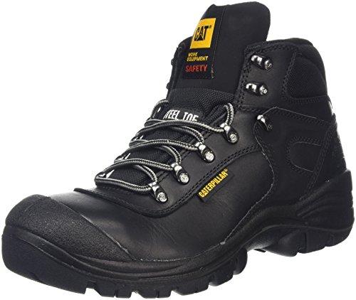 CAT Footwear Herren Pneumatic S3 Sicherheitsschuhe, Schwarz-Schwarz (Black), 41 EU
