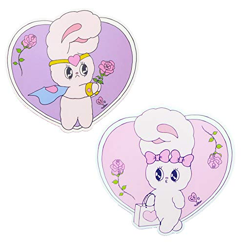 Esther Bunny Heart Mouse Pad, 2 Sets, Punky Sugar