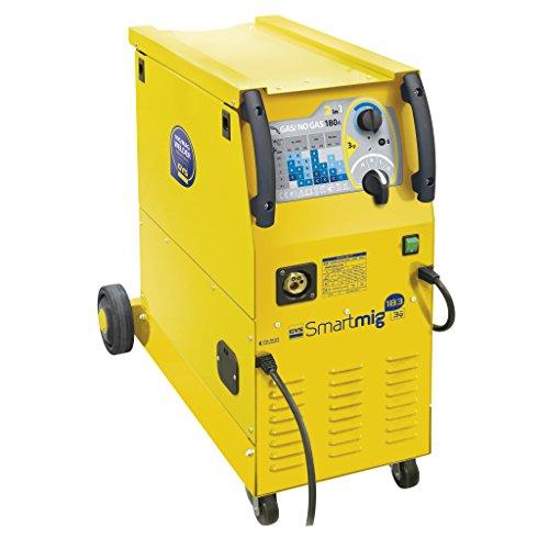 GYS MIG/MAG Schweißgerät, 30-180 A, Dreiphasig 400 V, gelb, Smartmig 183