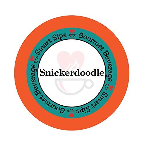 Smart Sips, Snickerdoodle Cookie Gourmet Coffee, 24 Count for Keurig K-cup Brewers