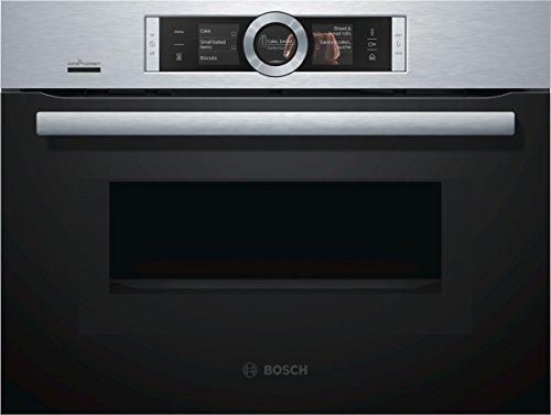 Bosch CNG6764S6 Serie 8 Backöfen und Herde/ Mini-Ofen / 45 L / Umluft-Infra-Grill / PerfectRoast & PerfectBake / HomeConnect / edelstahl