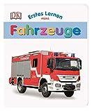 Erstes Lernen mini. Fahrzeuge: Bildwörterbuch mit Glitzerfolie ab 1 Jahr