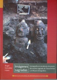 Escultura Piedra marca Inah