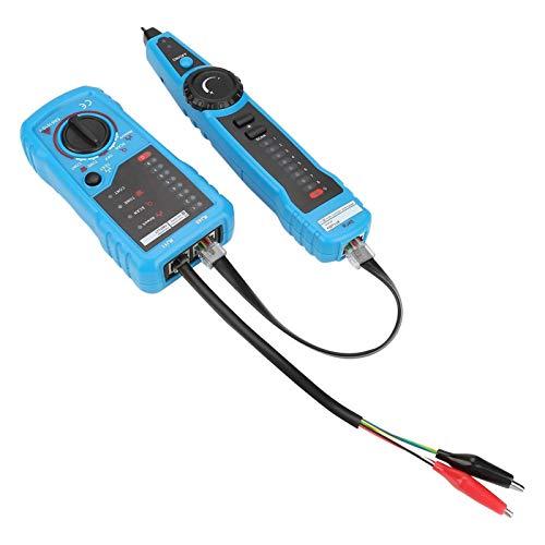 Comprobador de cables telefónicos, rastreador de cables de red, rastreador de cables telefónicos, mantenimiento de redes, aparatos de ingeniería de cableado para ingeniería de