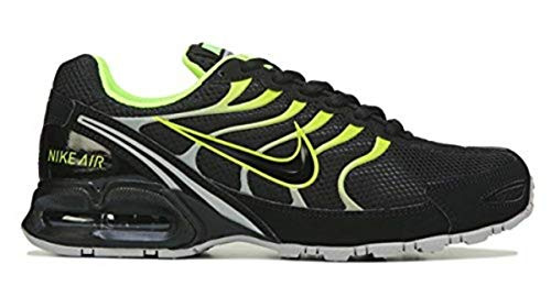 Nike Men's Air Max Torch 4 Running Shoe Black/Volt/Atmosphere Grey Size 12 M US