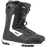 Nitro Snowboards Herren Sentinel TLS '20 All Mountain Freestyle Schnellschnürsystem günstig Boot Snowboardboot, 28.0, BLACK
