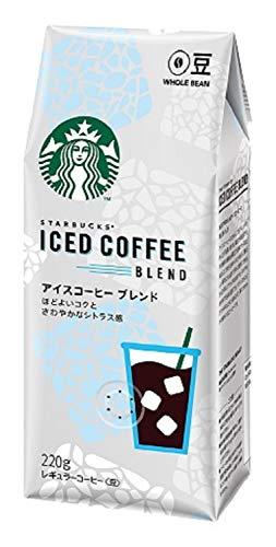 ネスレ スターバックス コーヒー アイスコーヒー ブレンド 220g レギュラー(豆)
