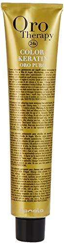 FANOLA Oro Puro Therapy Color Keratin Haarfarbe 100 ml 5.1, Hellbraun Asch
