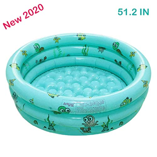 Backyard Round Inflatable Baby Swimming Pool, Indoor and Outdoor Toddlers Summer Water Game Activity Center, Family,Garden, Water Game for Kids and Adults