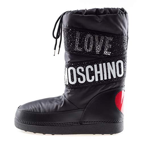 Moschino Love Bottes de neige noires - Noir - Noir , 39 EU EU