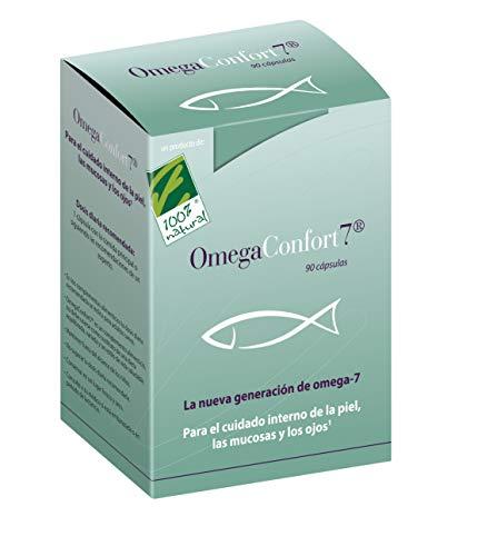 100% Natural - Omega Confort Mantenimiento Piel y Mucosas 90 Cápsulas