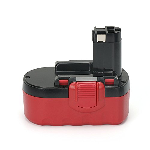 PowerGiant 18V 3.0Ah NiMh Replacement Battery for Bosch BAT181 BAT180 BAT025 BAT026 BAT160 BAT189 33618 52318 3860K