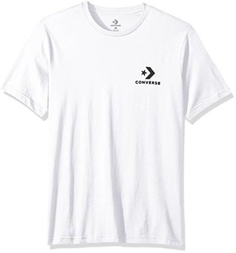 Converse Left Chest Star Chevron Tee White T-Shirt Herren weiß XL weiß