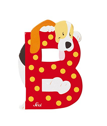 Trudi 81602 - Buchstabe Beagle/Hund B, farblich sortiert