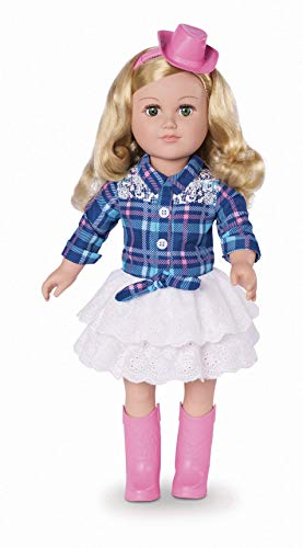 myLife Brand Products My Life As Poseable 18 Cowgirl Doll - BLonde