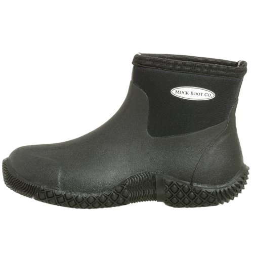 Muck Boots The Company Jobber Black, Practical Low-Cut Work Boot UK 10 / EU 44/45