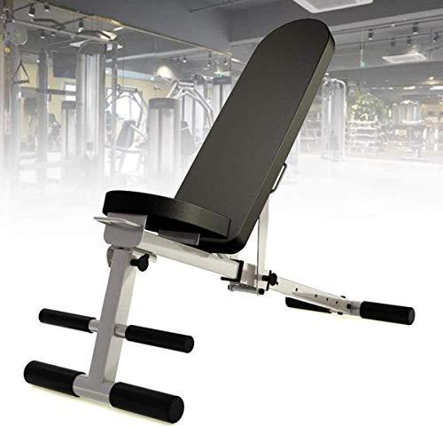 AACXRCR Incline/Decline Bench Press, Múltiples Niveles de Banco Inclinado Peso Ajustable, Plegable e Inclinado, Entrenamiento de los músculos Abdominales, MAX 250KG
