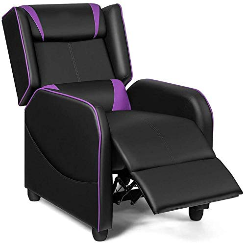 Massage Gaming Recliner Chair Single Living Room Sofa Home Theater Seat Widely Used As A Single Recliner Sofa Game Racing Chair Home Theater