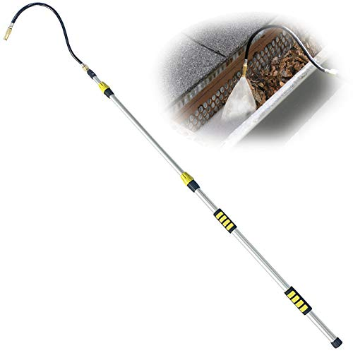 Buyplus Telescoping Gutter Cleaning Tool - 12 Foot...