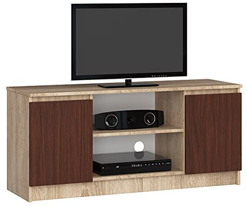Mueble TV K120 2D 1P Sonoma/WENGE