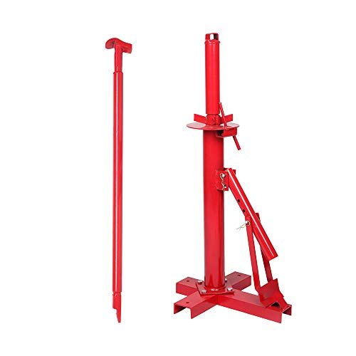"""TUFFIOM Manual Tire Changer, Portable Hand Bead Breaker Mounting Tool for 8"""" to 16"""" Tires, for Home Garage Small Auto Shop"""