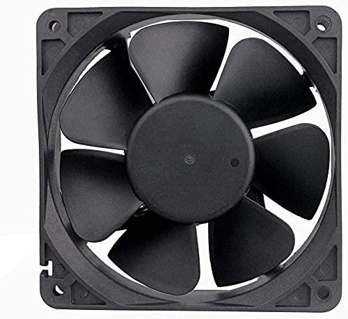 DFYAI 12 cm/cm 12V 0 90A Bola de Volumen de Aire Alto PWM Ventilador de enfriamiento de Cuatro Cables 120 * 120 * 38