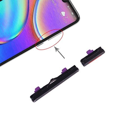 LENASH Teclas Laterales for Huawei P20 (Negro) Q Flex Cable (Color : Black)