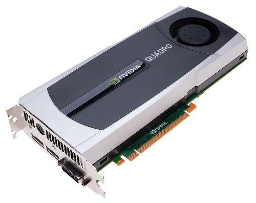 PNY Quadro 6000 x16 6GB GDDR5 RTL PCI-E 384bit 2xDisplayPort 1xDVI-I DL 3D-Stereo SLI SDI HDCP HDMI 1.3a Support aktiv