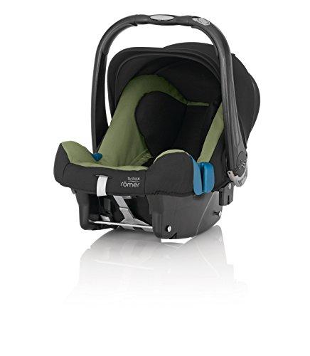Britax Römer Autositz Baby-Safe plus SHR II, Gruppe 0+ (Geburt - 13 kg), Kollektion 2015, Cactus Green