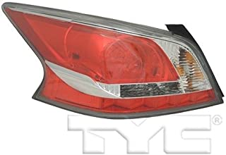 Go-Parts - OE Replacement for 2014 - 2015 Nissan Altima Rear Tail Light Lamp Assembly / Lens / Cover - Left (Driver) Side 26555-9HM2A NI2800204 Replacement For Nissan Altima