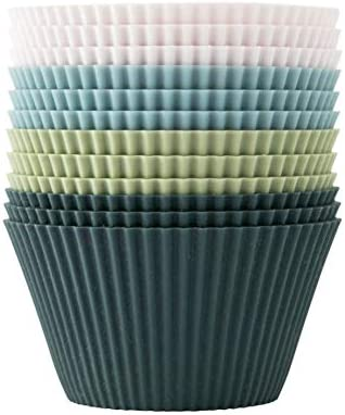 The Silicone Kitchen Reusable Silicone JUMBO Baking Cups Non Toxic BPA Free Dishwasher Safe product image