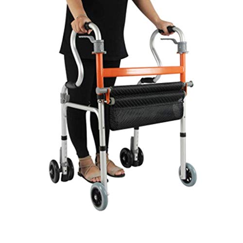 Z-SEAT Rollators Walker für Senioren Aluminiumlegierung Walker Allrad Walker Adult Walker Upright Walker Drive Walker