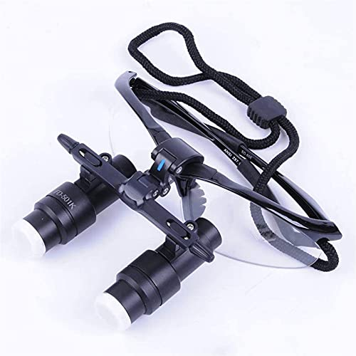 Dental Quirúrgico Lupas Binoculares 4X 420Mm Profesión Lupas Portátil Médico Vidrio Óptico Lupa con Marco De Plástico