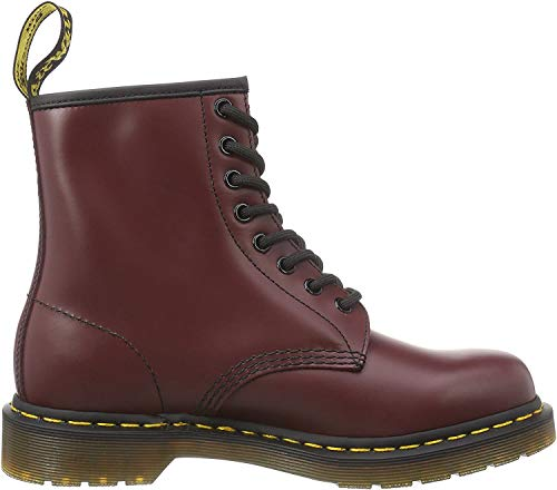 Dr. Martens 1460 Smooth 59 Last WHITE, Unisex-Erwachsene Combat Boots, Rot (1460 Smooth 59 Last CHERRY RED), 38 EU