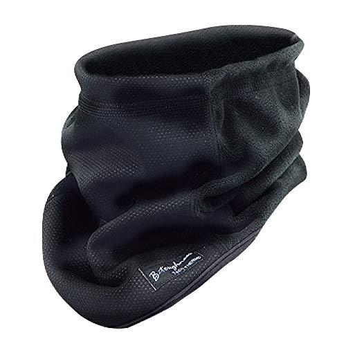 おたふく手袋 ボディータフネス 発熱防風 保温 ネックウォーマー ブラック JW-124