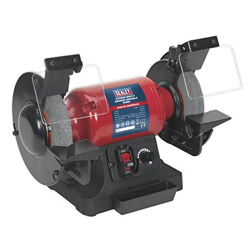 Sealey BG150WVS Variable Speed Bench Grinder, 150mm