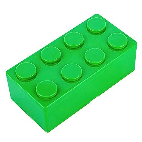 Linge en Coton Danzh Panier de Rangement Portable en Lin Multifonction empilable en Dentelle Vert 35 * 45cm