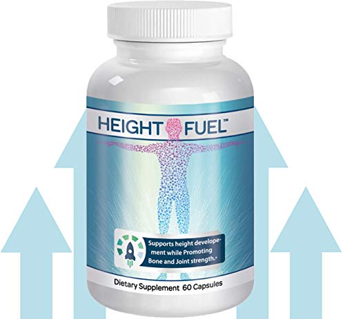 ⚡ Height Fuel by Success Chemistry® - Maximum Strength Height Fuel Enhancement & Powerful Antioxidant - Natural Bone Support & Joint Growth Formulation - Grow Taller Faster