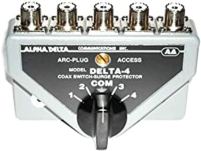 alpha delta 4 position coax switch